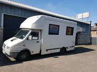 Twin wheel iveco daily perfect for campervan conversion only18k miles