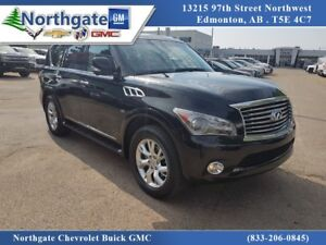2014 Infiniti QX80 7 Passenger, Rear DVD, Sunroof, Navigation