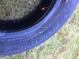 Vredestein SnowTrac 5 snow/winter tyres (pair)
