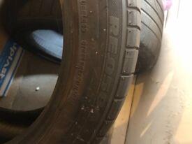 Bridgestone Potenza Tyres x 2