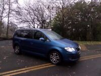 VW TOURAN 1.9TDI SE 105*FULL HIST*7 SEATS*FINANCE AVAILABLE*