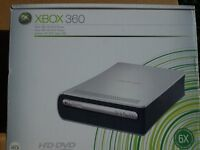 XBOX 360 HD DVD PLAYER NEW & UNUSED + NEW COMPLETE BOX SET HEROES SERIES 1
