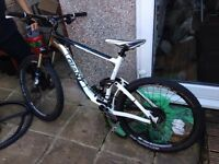 excellent condition! giant aluxx all fluid form mountain bike good tyres really good condition