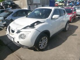 NISSAN JUKE - VF14AKG - DIRECT FROM INS CO