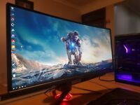 "£900+ TOP Gaming Monitor ASUS ROG PG348Q 34"" 1440p BEST 2K monitor 100Hz"