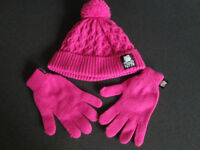 BRAND NEW GIRLS HATS/GLOVES/EAR MUFFS - AGE 7/8-13 - IDEAL XMAS GIFTS