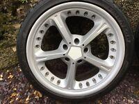 AC Schnitzer wheels 18'