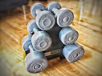 Dumbbell sets with Rack, 9kg