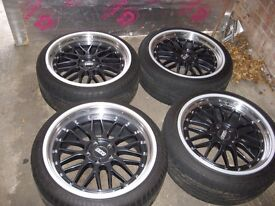 """Alloy Wheels 19"""" staggerd LM's"""