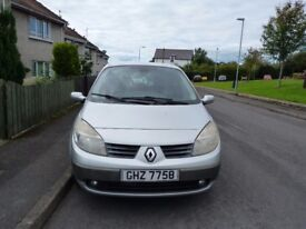 Renault Scenic 1.9 dCI LOW MILES, VERY GOOD CONDITION