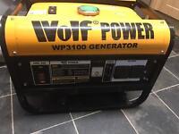 Petrol generator almost new campervan - catering van