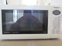 Panasonic Slimline Combi Microwave Oven (model NN-A554)