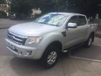 Ford ranger xlt pickup truck 4x4 Tdci manual 6 2012 new shape truck very clean inside and out fsh