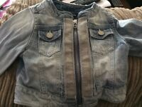 Girls denim jacket (4 years old) - Next