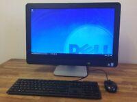 "DELL 9010 23"" FULL HD All in One PC - i5 3470 - 500GB - Windows 10 - WebCam - WiFi , Computer"
