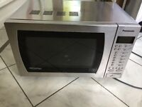 Panasonic 900w Family Size Inverter Intelligent Microwave. Stainless Steel. Exeter