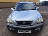KIA SORENTO CRDI XE AUTO - 2497cc 2007 DIESEL LONG MOT SERVICE HISTORY ONY TWO OWNERS FROM NEW