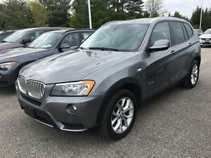 2013 BMW X3 28i/AWD/BLUETOOTH/HEATED SEATS