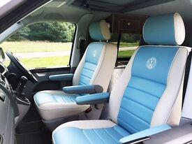 New VW T5 Pop Top Trendline Campervan, Air Con, Internal Floor Slide Rails + Bike Storage. Must See