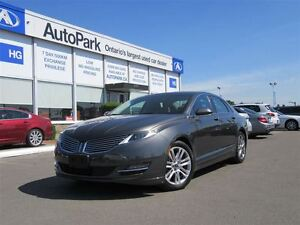 2015 Lincoln MKZ AWD| Heated leather| Navi| Bluetooth