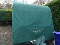 Caravan cover. Specialised. £50 VGC fits Bailey Valencia or similar