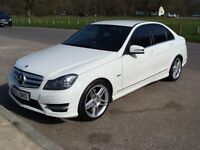 2012 MERCEDES BENZ C CLASS C350 CDI BlueEFFICIENCY SPORT AUTO