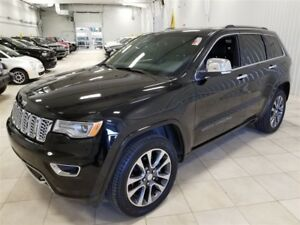 2017 Jeep Grand Cherokee Overland *NAV, CUIR, TOIT PANO, SUSP A