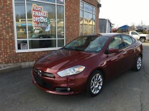 2015 Dodge Dart Limited w/ White Leather, Nav, 2 Sets Tires/Rims