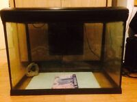 75 Litre Fish Tank - Built in light, heater and filter. In full working condition