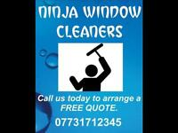 SOUTHAMPTON - NINJA WINDOW CLEANERS. Southampton and surrounding areas.