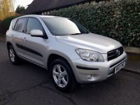 2006 TOYOTA RAV4 XT3 AUTOMATIC , LOW MILEAGE 78k, FULL SERVICE HISTORY WITH 9 STAMPS
