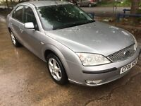 06 FORD MONDEO EDGE 125 1.8 LITRE PETROL 5 DOOR HATCHBACK MILES 71453 MOT.D 29/9/17 GREAT FAMILY CAR