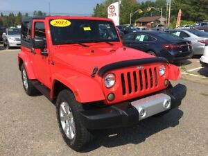 2013 Jeep Wrangler Sahara ONLY $243 BIWEEKLY WITH 0 DOWN!
