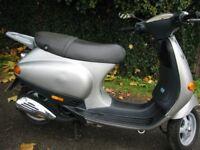 Vespa ET4 ET2 panel ,light ,exhaust , wheel ,tyre,clutch ,engine ,shock ,fork ,brake,top box