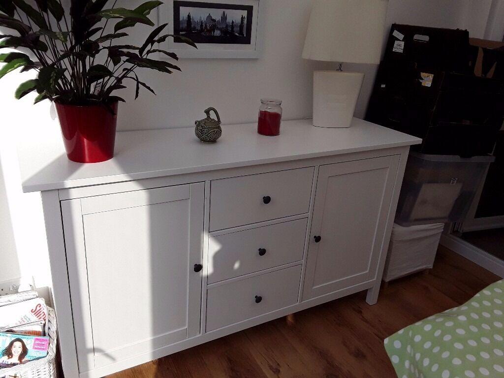 white ikea hemnes sideboard as new great furniture | in hull, east