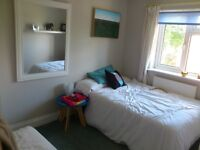 Double bedroom with own bathroom Monday to Friday only