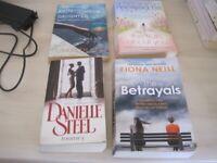 4 x women's paperback books