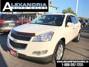 2011 Chevrolet Traverse 2LT panoramic sunroof 116 km