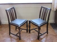 Dining Chairs (pair)