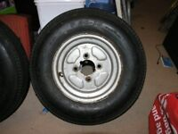 10 Inch Trailer Wheel Complete With Tyre Weymouth