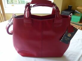 Cerise handbag, new