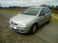 2006 Vauxhall Corsa Life, 1.2 Twinport, 5 door, long mot