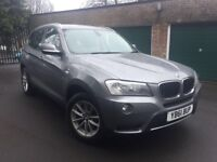 2011 61 BMW X3 SE XDRIVE 2.0 DIESEL MANUAL 1 OWNER FROM NEW