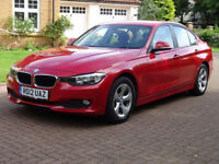 BMW 3 SERIES 2.0 320D EFFICIENTDYNAMICS 4d 161 BHP SERVICE RECO (red) 2012