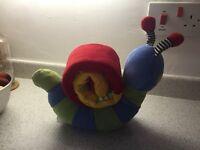 Mamas and Papas Snail Activity Plush Toy