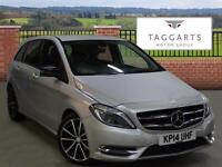 Mercedes-Benz B Class B200 CDI BLUEEFFICIENCY SPORT (silver) 2014-03-27