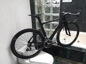 (SIZE 51cm & 54cm) FACTOR ONE DURA ACE DI2 CARBON ROAD BIKE