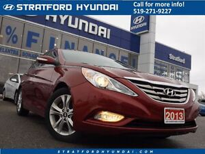 2013 Hyundai Sonata Limited | LEATHER | SUNROOF | NO ACCIDENTS |