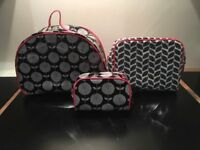 """Next"" 3 Wash/Cosmetic Bags. New"