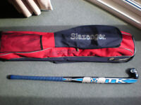 TK Hockey stick and Slazenger bag